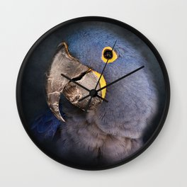 Shades of Blue Wall Clock