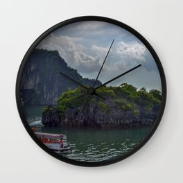 Landscape - Halong Bay Wall Clock