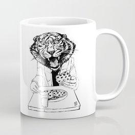 tiger eating cookie Coffee Mug