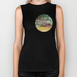 Laundry Line in Abstract Biker Tank