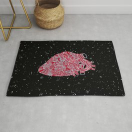Lonely hearts Rug