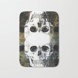 Skull Graffiti 1.0 Bath Mat