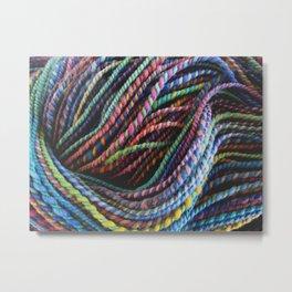 Salamander Soup - Yarn Metal Print