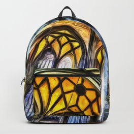 Vienna Cathedral Vincent Van Gogh Backpack