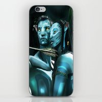 avatar iPhone & iPod Skins featuring Avatar by Dano77