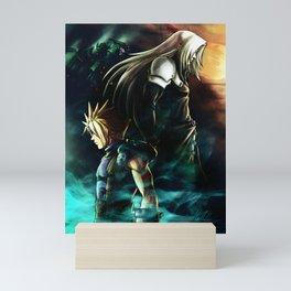 Final Fantasy VII fanart Poster Mini Art Print