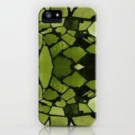 Mosaic - Fern Green iPhone Case