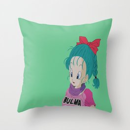 Bulma Throw Pillow