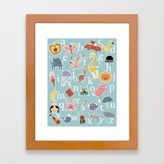 X is Always for Xylophone Framed Art Print
