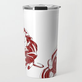 Rapunzel - brothers Grimm illustration Travel Mug