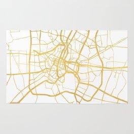 BANGKOK THAILAND CITY STREET MAP ART Rug