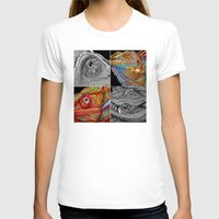 scales T-shirts featuring Reptile Scales by Tim Jeffs Art