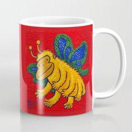 Yellow Butterfly Ape Coffee Mug