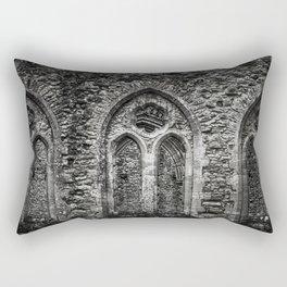 Netley Abbey. Rectangular Pillow