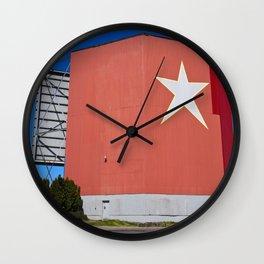 The Star-Lite Wall Clock