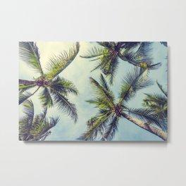 Sprawled Palms Metal Print