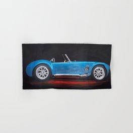 Shelby Cobra painting Hand & Bath Towel