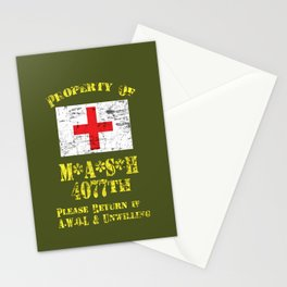 Property Of Mash 4077th Stationery Cards