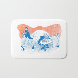 Freud and Halsted Bath Mat