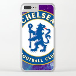 Chelsea FC Galaxy Clear iPhone Case