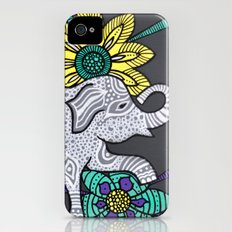 Zen Elephant iPhone (4, 4s) Slim Case