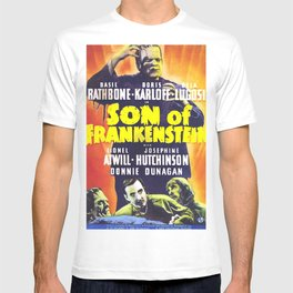 Son of Frankenstein, vintage horror movie poster T-shirt