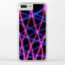 Strobe Clear iPhone Case