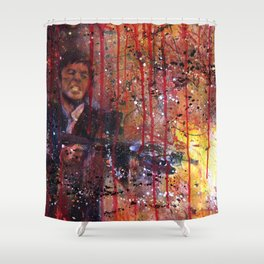 Tony Montana in Scarface Shower Curtain