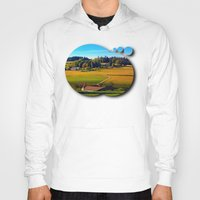 farm Hoodies featuring From farm to farm by Patrick Jobst
