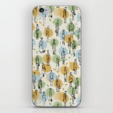 64 Popular People and a Dog (Pattern) iPhone & iPod Skin