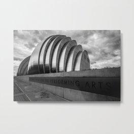 Kauffman Center  Metal Print