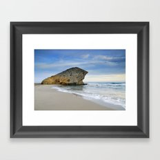 Monsul. Sea dreams Framed Art Print