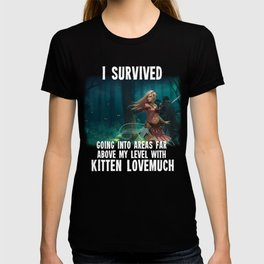 I Survived - Second Age of Retha by AM Sohma T-shirt