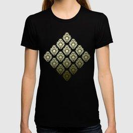 """Olive Damask Pattern"" T-shirt"