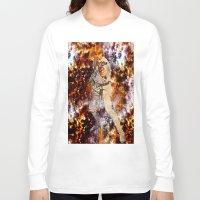 luke hemmings Long Sleeve T-shirts featuring Luke Skywalker  by Saundra Myles