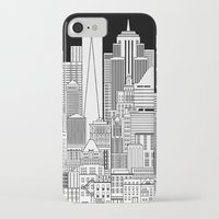 nyc iPhone & iPod Cases featuring NYC  by Robert Farkas