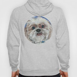 Ruby the Shih Tzu Dog Portrait Hoody