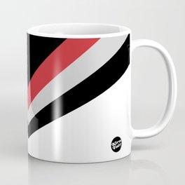 Vanishing Point #home #decor #retro #artwork #abstract #art #stripes #striped Coffee Mug