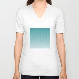 Blue waves Unisex V-Neck