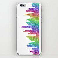 chicago iPhone & iPod Skins featuring Chicago by David Zydd