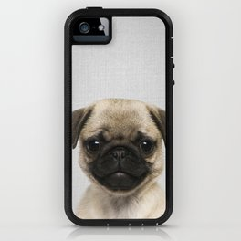 Pug Puppy - Colorful iPhone Case