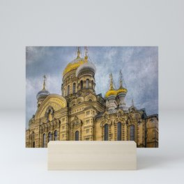 Church of the Assumption of the Blessed Virgin Mary - St. Petersburg Mini Art Print
