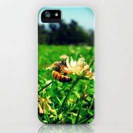 Bee @ Work iPhone Case