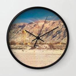 Land of Mañana - New Mexico Wall Clock