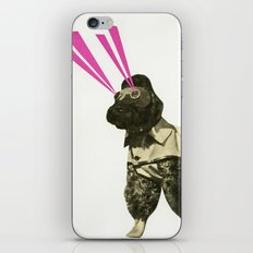 Space Dog iPhone & iPod Skin