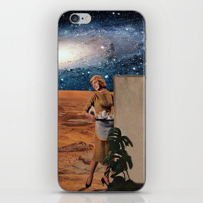 Love in Mars iPhone Skin