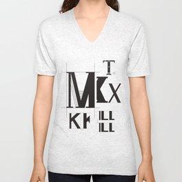 Alphabet Project Unisex V-Neck