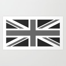 Union Jack Ensign Flag - High Quality 1:2 Scale Art Print