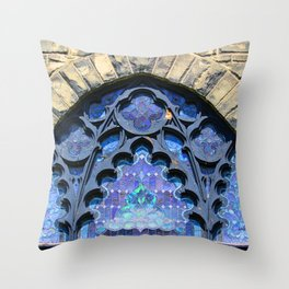 Columbia Baptist Church Throw Pillow