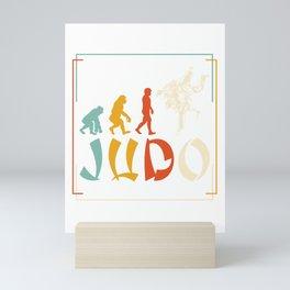 Evolution Judo Mini Art Print